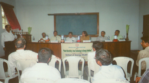 Seminar organised by CDSR with CDES Solar Lantern